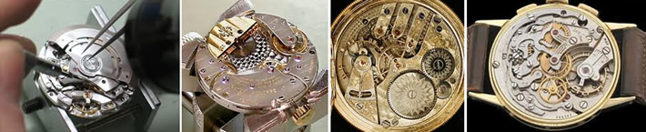 Complex watch movements