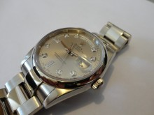 Solid White Gold 118209 ROLEX President overhaul and Insurance Valuation