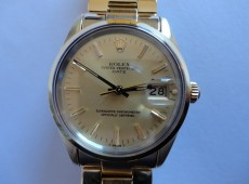15505 18 ct. gold plated Rolex with 3035 movement Photo